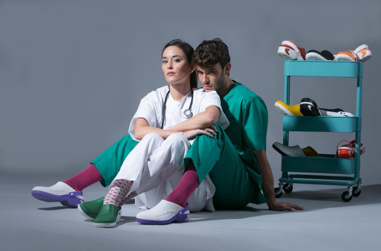 uniformes sanitarios en malaga Calzados y Zuecos Sanitario