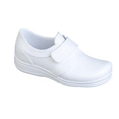 uniformes sanitarios en malaga Zapato Sanitario Feliz Caminar Blanco