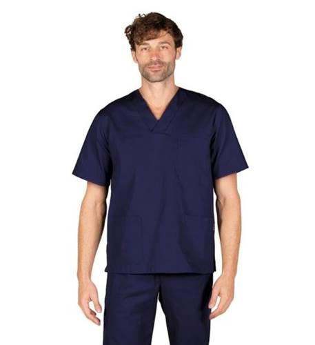 Blusa Sanitaria Unisex Pico color Marino Garys