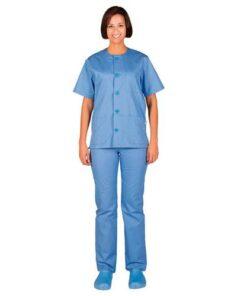 844000 Pijama-Conjunto-Abotanado-Garys-celeste