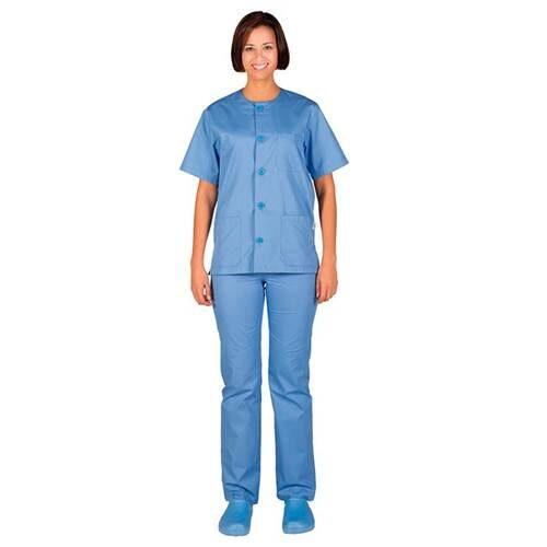 Pijama-Conjunto-Abotanado-Garys-celeste