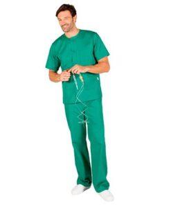 Pijama-Conjunto-Abotanado-Garys-verde