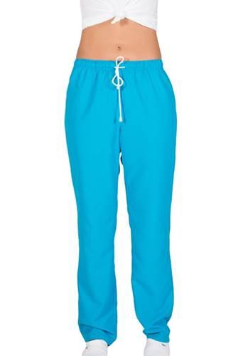 Pantalon Sanitario de Microfibra turquesa