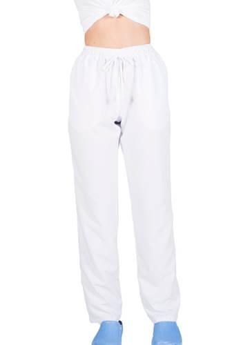 Pantalon Sanitario de Microfibra blanco
