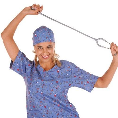 Casaca sanitaria unisex GARYS 6111 Berta Estetoscopio