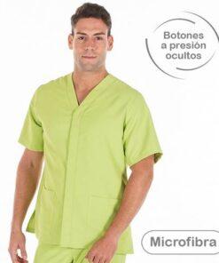 Casaca sanitaria hombre GARYS 6126 Pablo pistacho
