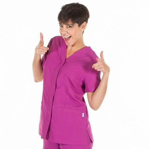 Casaca sanitaria mujer GARYS 6551 Sonia Malva