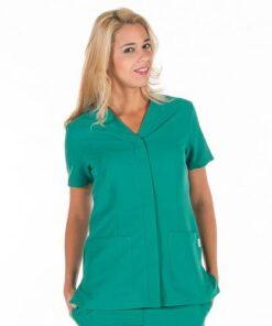 Casaca sanitaria mujer GARYS 6551 Sonia Verde