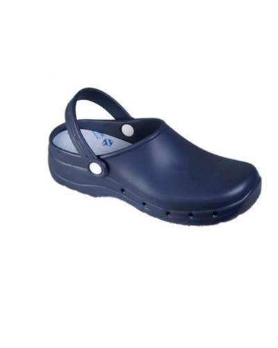 Zueco Sanitario Feliz Caminar Azul Marino