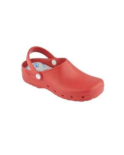 Zueco Sanitario Feliz Caminar Rojo