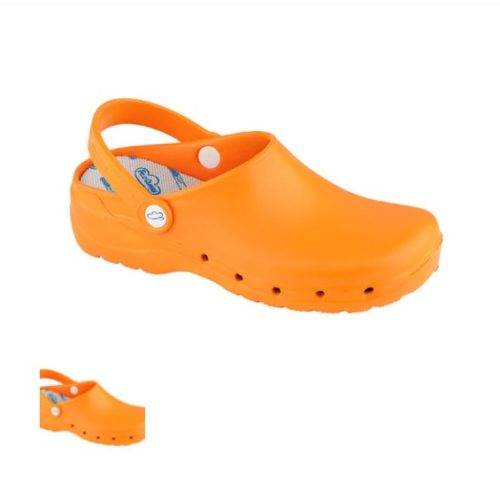 Zueco Sanitario Feliz Caminar Naranja