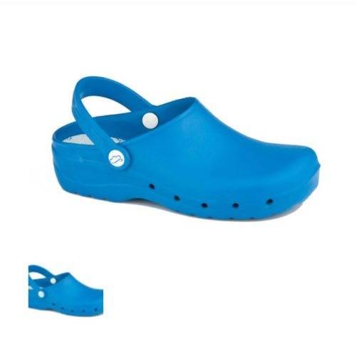 Zueco Sanitario Feliz Caminar Azul