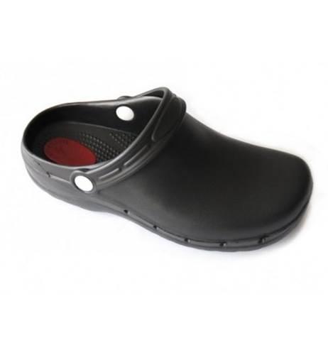 Zueco Flotante Antiestatico Feliz Caminar Negro