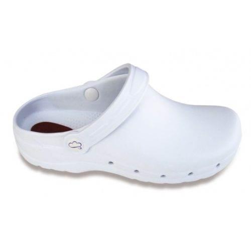 Zueco Flotante Antiestatico Feliz Caminar Blanco