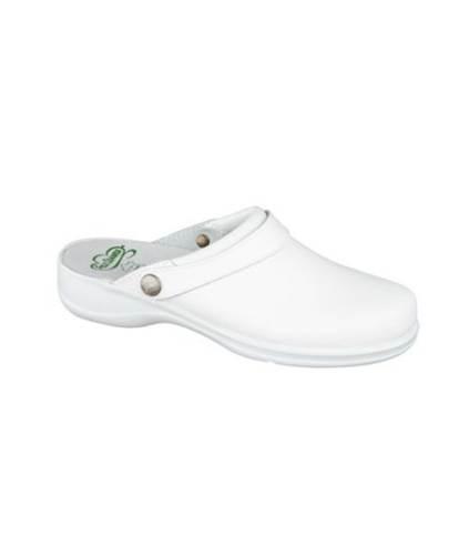 Zueco Delta Sanidad Feliz Caminar Blanco