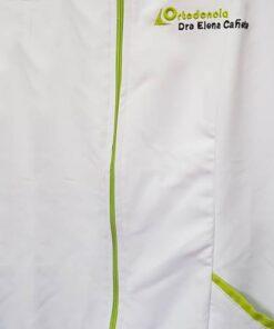 Personalizacion Cremallera logo y tapeta bolsillo