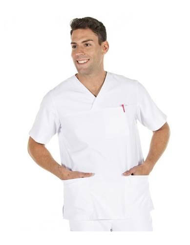 Casaca Sanitaria Elastica Hector Blanca