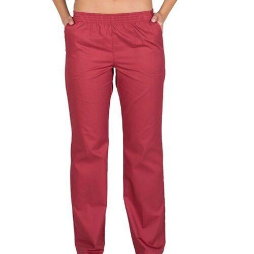 7733 Pantalon de Trabajo Burdeo