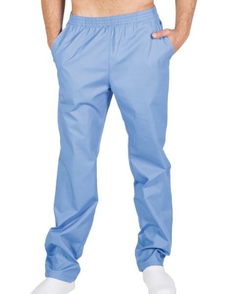 7733 Pantalon de Trabajo Celeste