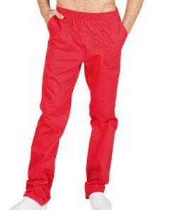 7733 Pantalon de Trabajo Rojo