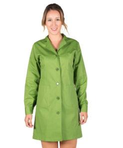 Bata Sanidad Mujer Color Verde Oliva